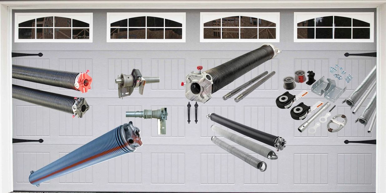 Garage door spring repair in Richmond bc