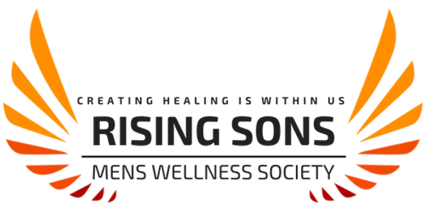 RISING SONS - MENS WELLNESS SOCIETY. Community, Deep breathing, energetic practices, meditation.