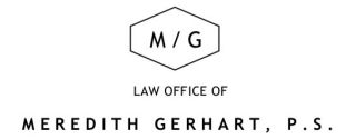 Law Office of Meredith Gerhart, P.S.