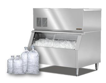 ice maker machine, ice maker machine lease, bagged ice delivery service,diamond brooks bottled water
