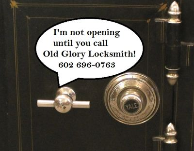 24 Hour Combination Safe Locksmith Service Open Drill Keypad Dial Manipulation Phoenix Valley Wide
