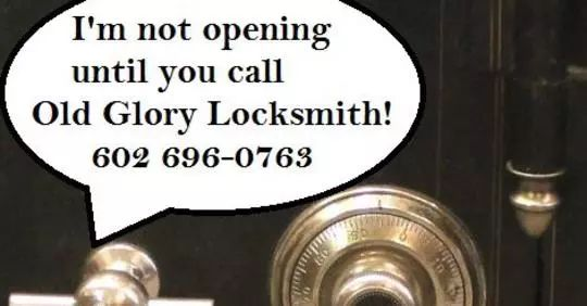 Old Glory Locksmith Glendale AZ Combination Safe Open Safe Service