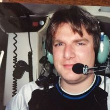 Jeff Mckay, Traffic Reporter for 1010 WINS in JetCopter 1010 from 1991 - 1994