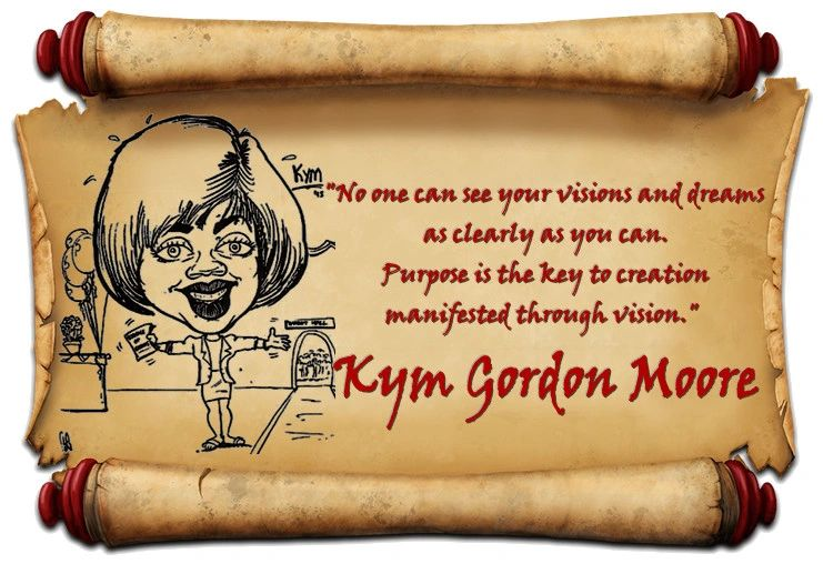 Welcome to kymgmoore.com, home of  the works by Kym Gordon Moore, an avid writer, poet and marketer.