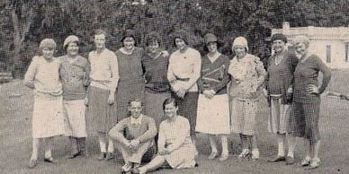 This group of ladies competed for the Georgia Amateur Championship in 1930.