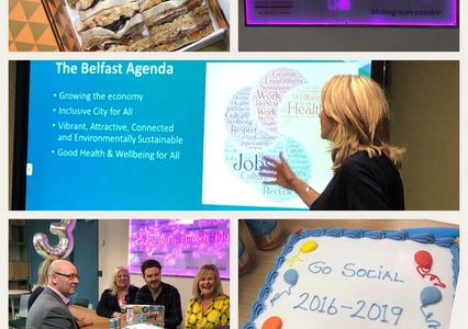 Celebrating Social Enterprise success in Belfst - Social in the City May 2019