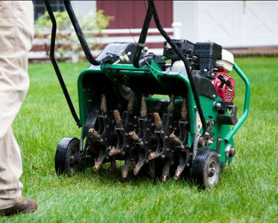 Power Raking and Spring Cleanups in Winnipeg. Get Aeration Service in Winnipeg with Power Raking.