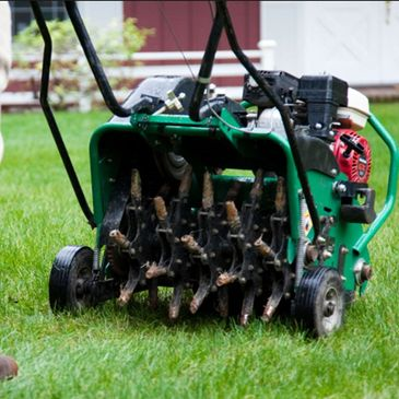 Lawn Care in Winnipeg. Power Raking, Mowing and Aeration.