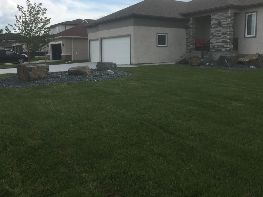 Winnipeg landscaping company. Unique design and sod installation in winnipeg.