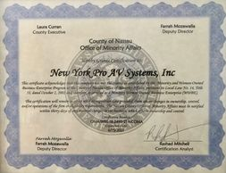 Nassau County WBE Certification