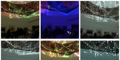 12 concert shows in 4 days  Skopje Light art Festival with Laurenz Teithner who did the visual arts