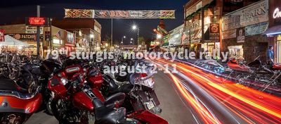 Our store, Sturgis Billet Barn in Down Town Sturgis on the right! See you there!