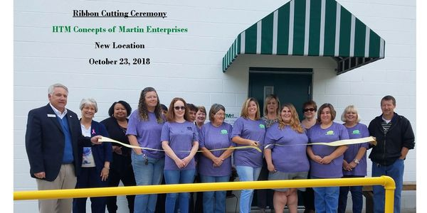 HTM's ribbon cutting for new location.
