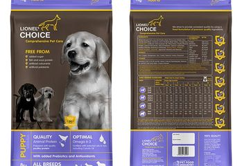 Dog food Lionel's choice Puppy Adult