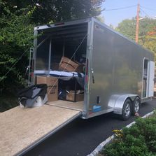 Trailer rental for storage unit or moving household items within Michigan or the United States.