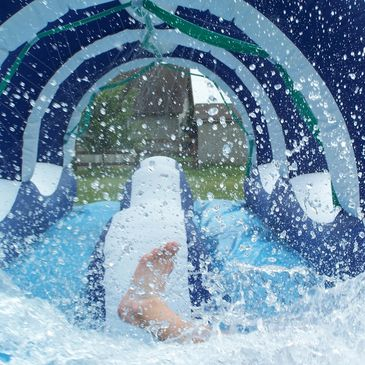 slip n slide, obstacle course, water slide, moon bounce, party equipment, party rentals