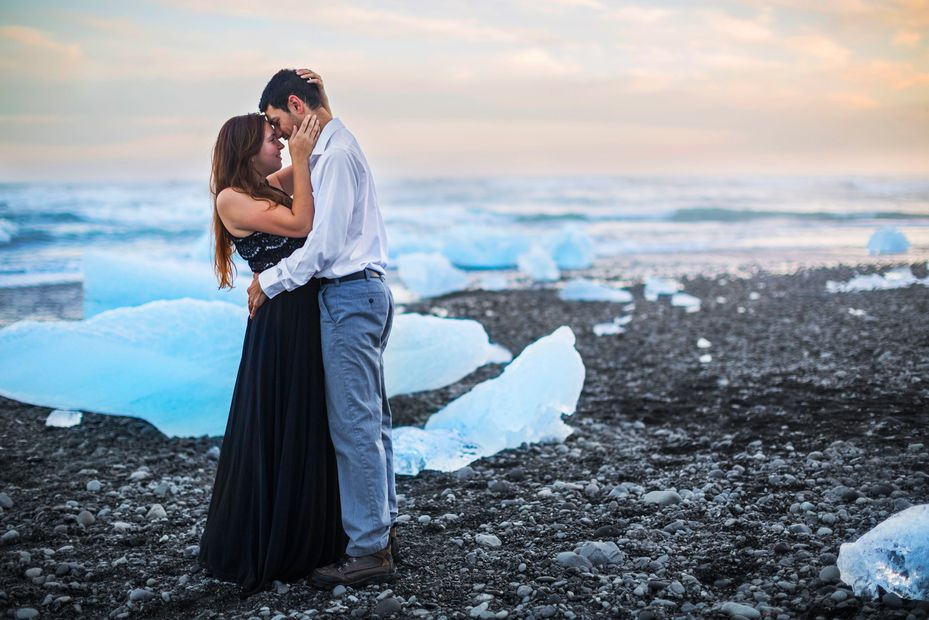 Iceland About us Sunset Lighitng Weddings Engagement