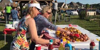 Epiphany Lutheran Church Fellowship - Crab Boil & Picnic at the Community Garden