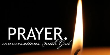 Light a candle for prayer