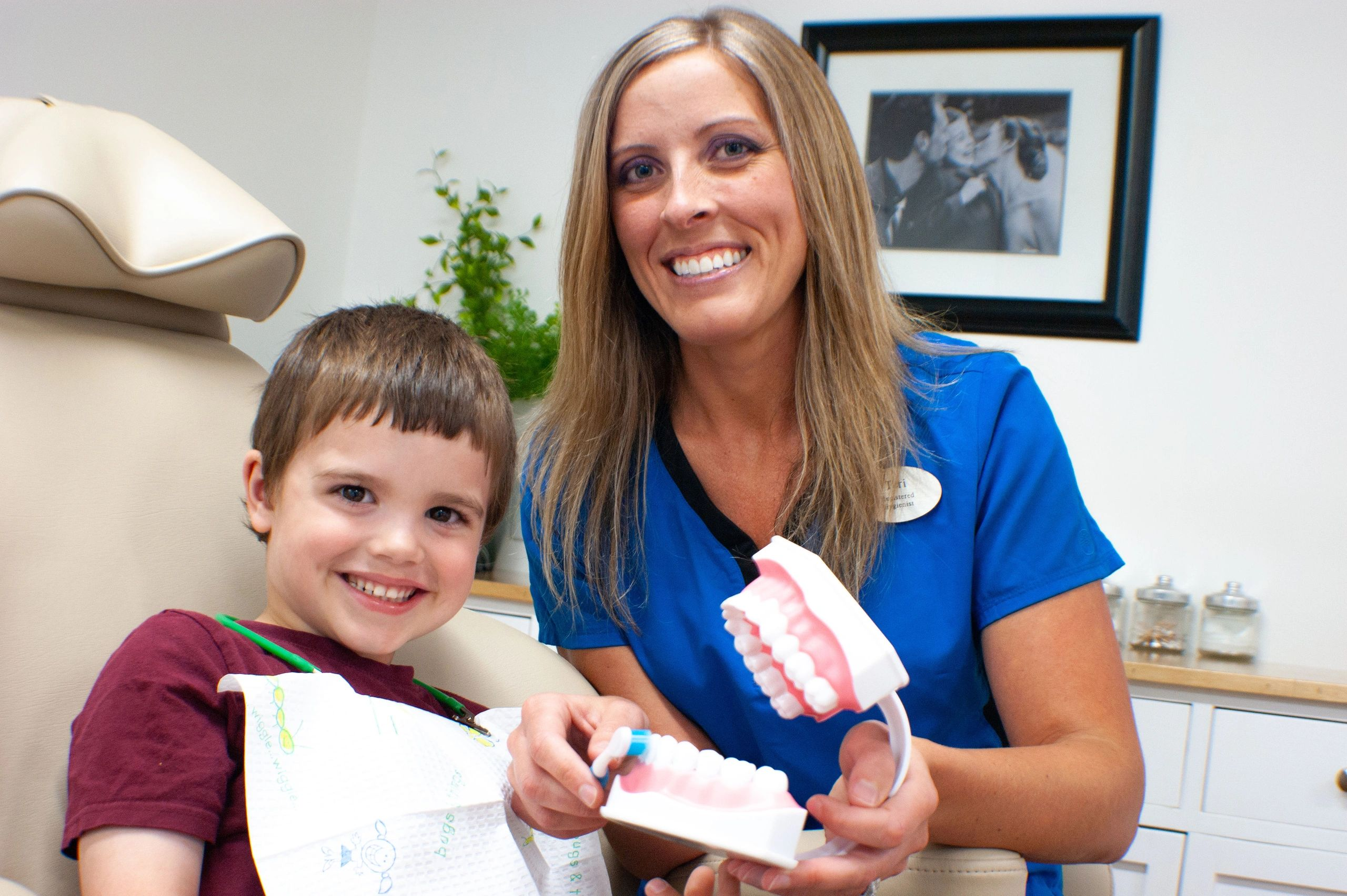 Children's teeth cleaning in Fredericton. Join the sugar bug free club.