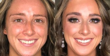 makeup makeover before and after