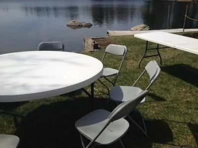 Click Above For our Table and Chair Rental Options!