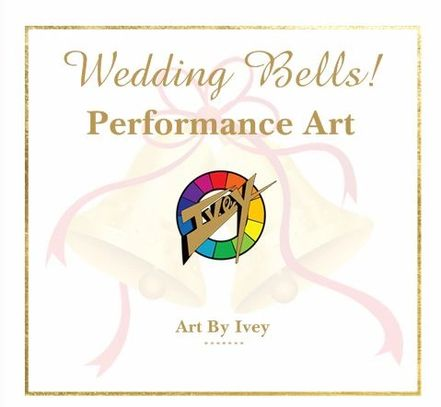 Getting married?Art By Ivey creates live portraits to memorialize your special day. Keep scrollin'