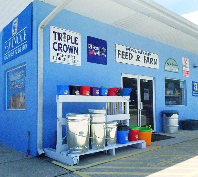 Malabar Feed & Farm store front