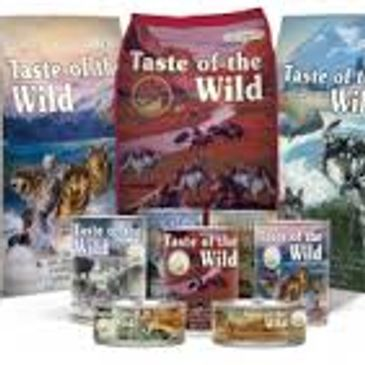 Taste of the Wild Grain Free Dog Food, Dog and Puppy feed, Dry and Canned pet food, Canine feed Prey Limited Ingredients Dry and Canned feed