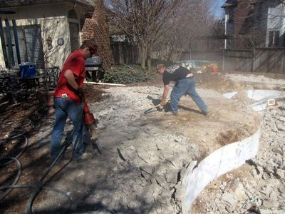 Elite Bobcat Landscape Swimming Pool Removal