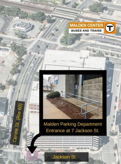 City of Malden Parking Department Location