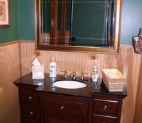 Cherry Suite 1 Luxury restroom trailer. Luxury restroom trailer lease or monthly rental.