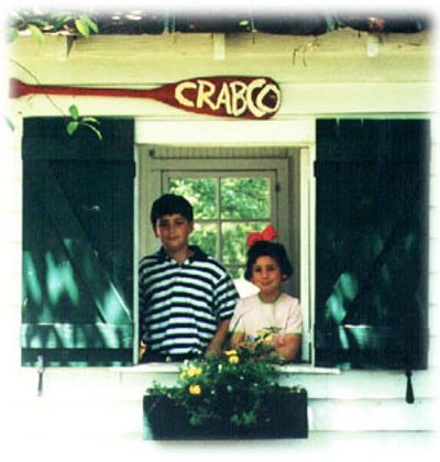 Co-Presidents, Lucius (10) & JaneAnn Laffitte (7 ) when the company first opened in 1998