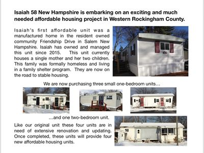 Adding four more homes to our affordable home inventory.