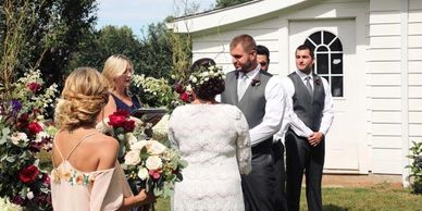 Judy Thompson, CT JP, CT wedding officiant, CT non-denominational minister, CT wedding venue