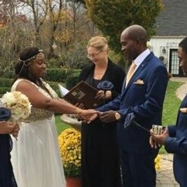 Judy Thompson, Justice of the Peace, wedding officiant, CT connecticut river valley inn,