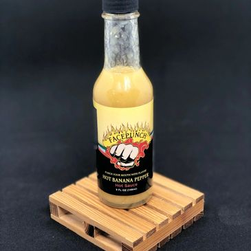 Hot banana pepper hot sauce is a one of a kind type sauce. Yellow hot banana peppers, liquified and made into an all-purpose hot sauce for salads, sandwiches, and more!
