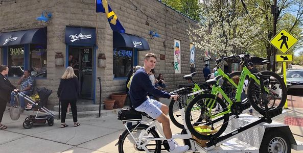 Events and Public outreach for Urban Rider Cargo Bikes Ann Arbor, MI 48104 (734) 929-5995