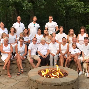 Family weekend gathering in northern Minnesota