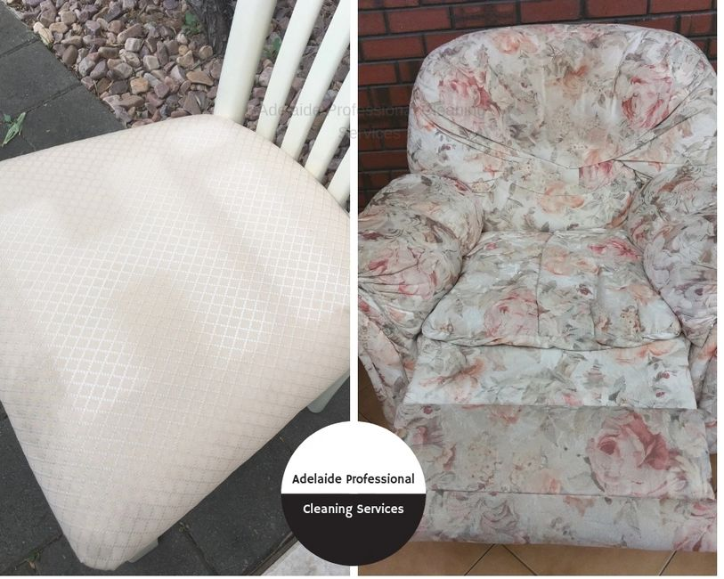 Adelaide Professional Cleaning Services specialise in Upholstery Cleaning. Call us on 0435 585 136