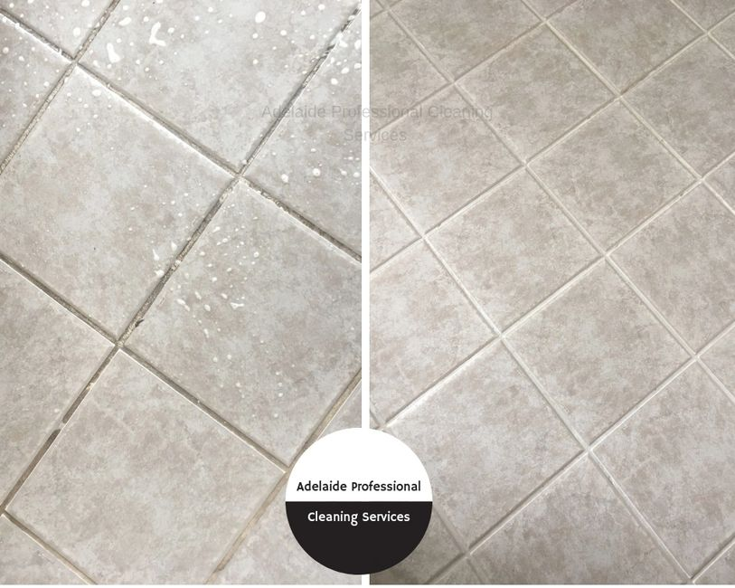 Tile & Grout Cleaning Adelaide. Refresh your tile and grout with a professional clean from Adelaide Professional Cleaning Services. Check out our before and after pics!