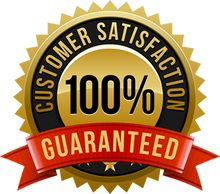 100% CUSTOMER SATISFACTION ON OUR SERVICES