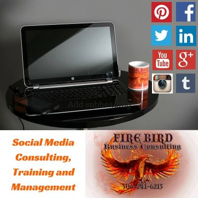 Social Media Management Training Firebird Business Consulting Saskatoon Regina Canada Sask