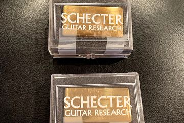 Schecter Superock Pickups Gold Pair NEW OLD STOCK