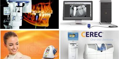 Technology for CEREC Same-day Ceramic Crown and Implant Dentistry