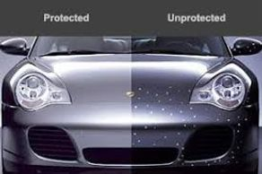 Paint Protection Film also referred to as a clear bra, is a thermoplastic urethane film applied to p