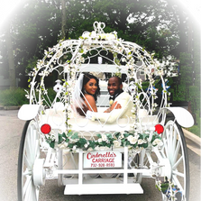Rear view of one of our Cinderella Carriages