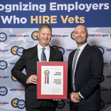 U.S. Vet General Contracting honored as recipient