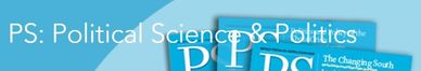 Logo for the journal PS: Political Science and Politics