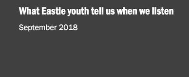 Title of the report: What Eastie youth tell us when we listen, September 2018
